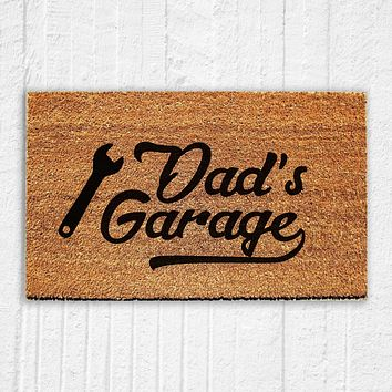 Dad's Garage Doormat