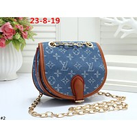 LV 2019 new canvas letter women's shoulder bag Messenger bag #2
