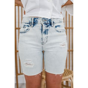 Thatcher Denim Shorts