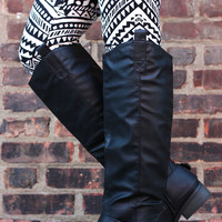 Ride With Me Boot - Black