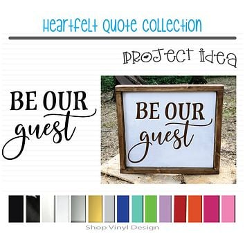 Be Our Guest for Farmhouse