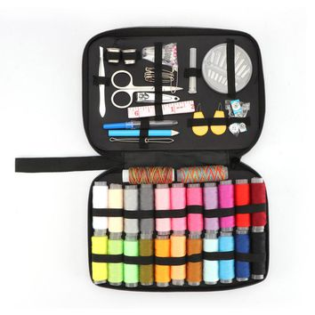 Sewing Kit with 96 Sewing Accessories, 24 Spools of Thread -24 Color for Family, Beginner, Traveller, Emergency