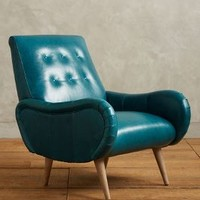 Premium Leather Losange Chair by Anthropologie