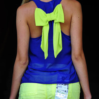 RESTOCK: Dreaming Of You Tank: Royal Blue | Hope's