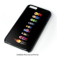 Marvel Avengers Comic Character Design for iPhone 4 4S 5 5S 5C 6 6 Plus, and iPod Touch 4 5 Case