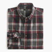 J.Crew Mens Slim Secret Wash Shirt In Burke Plaid