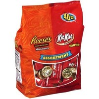 Walmart: Reese's Kit Kat: Assortment Peanut Butter Cups, 40 Oz