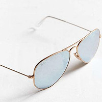 Ray-Ban Polar Flash Aviator Sunglasses - Urban Outfitters