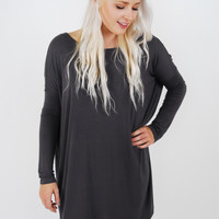 Piko Long Sleeve Tunic Dress