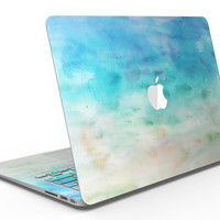 Blushed Mint 32 Absorbed Watercolor Texture - MacBook Air Skin Kit