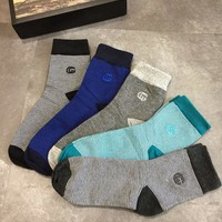 Gucci Fashion 5 Pairs Set Sock Style #315