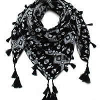 Cozy by Lulu- The Andes Fringe Scarf