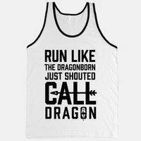 Run Like The Dragonborn Just Shouted Call Dragon