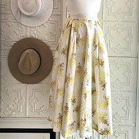 By Petti Floral Skirt