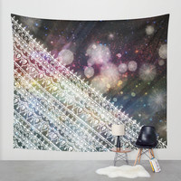 Gravitational Constant Wall Tapestry by Jenndalyn | Society6
