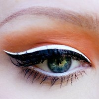 Lime Crime Smudge Proof Eyeliners with High Precision Brush- Lunar sea