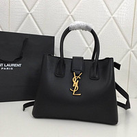 ysl women leather shoulder bags satchel tote bag handbag shopping leather tote crossbody 51