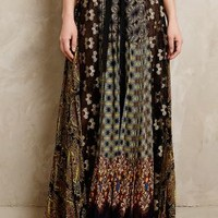 Petal Patch Maxi Skirt by Beguile by Byron Lars Black Motif