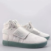 Trendsetter Adidas Tubular Invader Strap Fashion Casual  High-Top Old Skool Shoes