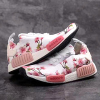 """Women """"Adidas"""" NMD Boost Trending Fashion Printing Leisure Running Sports Shoes"""
