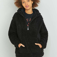 Sparkle & Fade Teddy Popover Hoodie - Urban Outfitters