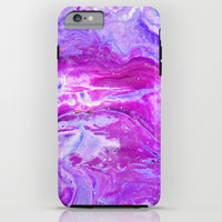 Pink Marble iPhone & iPod Case by Jenny Mhairi