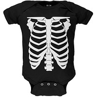 Skeleton Costume Baby One Piece