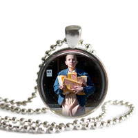 Eleven Necklace Stranger Things Silver Plated 11 Picture Pendant