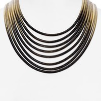 ABS by Allen Schwartz Multi Strand Necklace, 16"