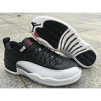 Air Jordan Retro 12 Low Aj 12 Men Basketball Shoes