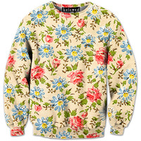 Floral Sweatshirt - READY TO SHIP
