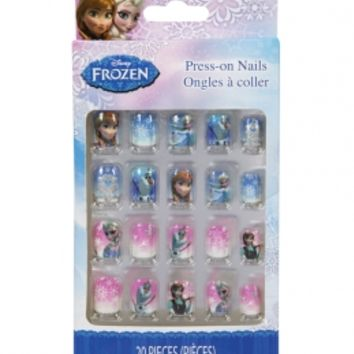 Frozen Press On Nails