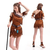 Indian Apparel Halloween Party Cosplay Custome Costume [8978919559]