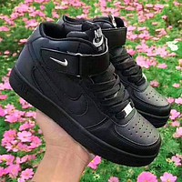 Nike AF1 Air Force 1 One Sneakers high-top casual shoes black