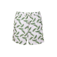 Nirvanic Palms Riki Trunks White