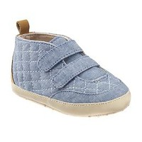 Quilted Chambray Sneaker for Baby