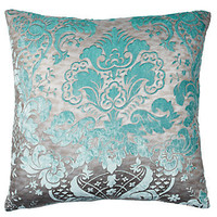"Z Gallerie - Juliette Pillow 24"" - Aquamarine"