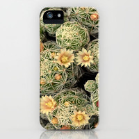 Pretty Prickly iPhone & iPod Case by RichCaspian