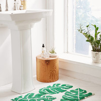 All Over Palm Bath Mat | Urban Outfitters