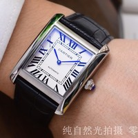 Cartier Ladies Men Women Quartz Watches Business Wrist Watch
