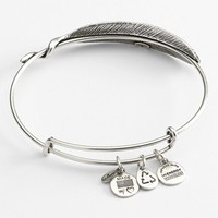 Women's Alex and Ani Quill Expandable Wire Bangle - Russian