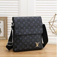 Louis Vuitton LV Monogram Canvas Men's Shoulder Bag