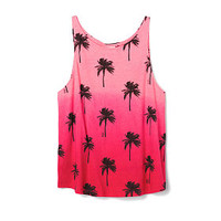 High-neck Tank - PINK - Victoria's Secret