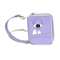 Flutter Purse in Lavender Patent Leather