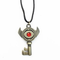 The Legend of Zelda Ocarina of Time Boss Key Alloy necklace keychain Cosplay Collection GiftKawaii Pokemon go  AT_89_9