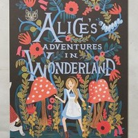 Rifle Paper Co. Alice's Adventures In Wonderland 2016 Calendar in Black Motif Size: One Size House & Home