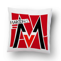Maroon 5 Logo Misery Pillow Cover