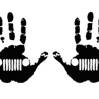 JEEP Wave Hands Decals