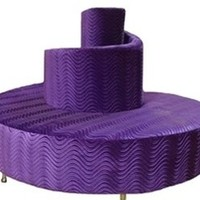 Swirl Lounge   Sleek Funky Bar and Lounge Sofa, perfect for any modern hotel, restaurant, lounge or home setting.  Get modern contemporary furniture for a nightclub.