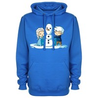 Elsa & Jack Frost Want to Build A Snowman. Frozen/Rise Of The Guardians Clothing & Apparel